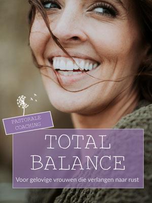 total balance goed genoeg meer rust